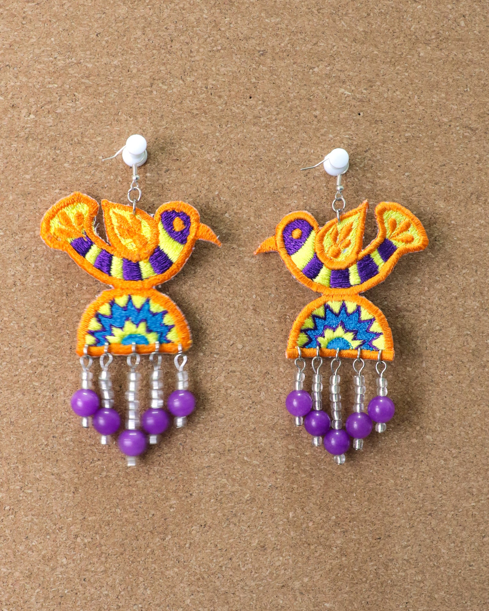 Pari Earrings | Tequila Sunrise