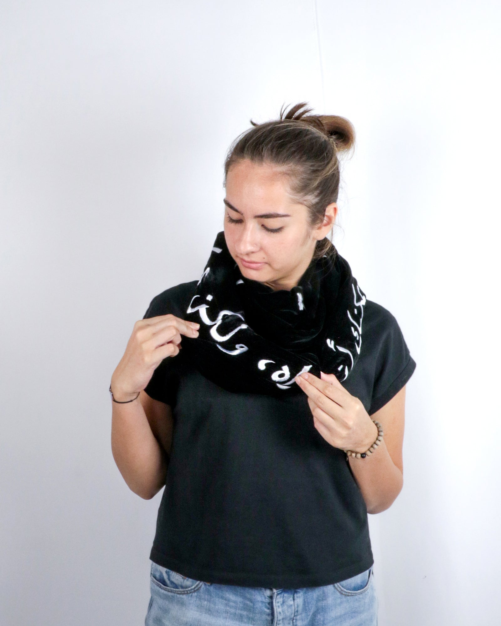 Love is like the Wind | Infinity Scarf