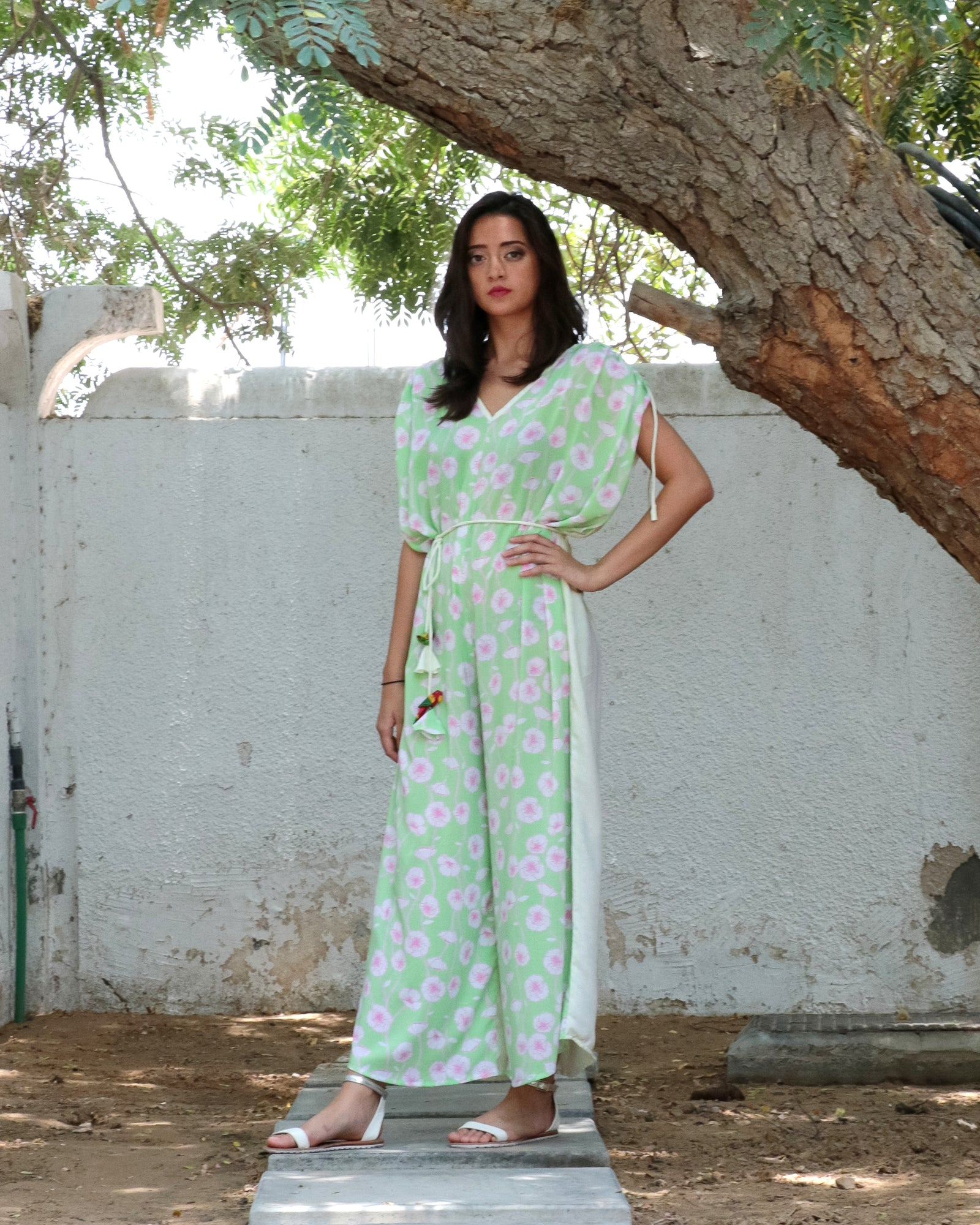 Kaftan Jumpsuit | Poppy in the Summer