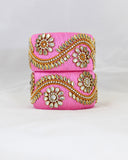 Chunky Bangles | Tea Rose