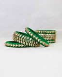 Bangles Stack | Emerald Green