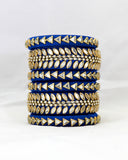 Bangles Stack | Midnight Blue