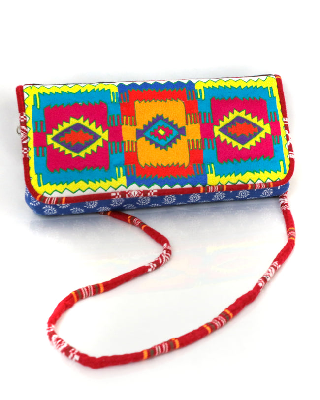 Blue Rain | Navajo-inspired Signature Purse