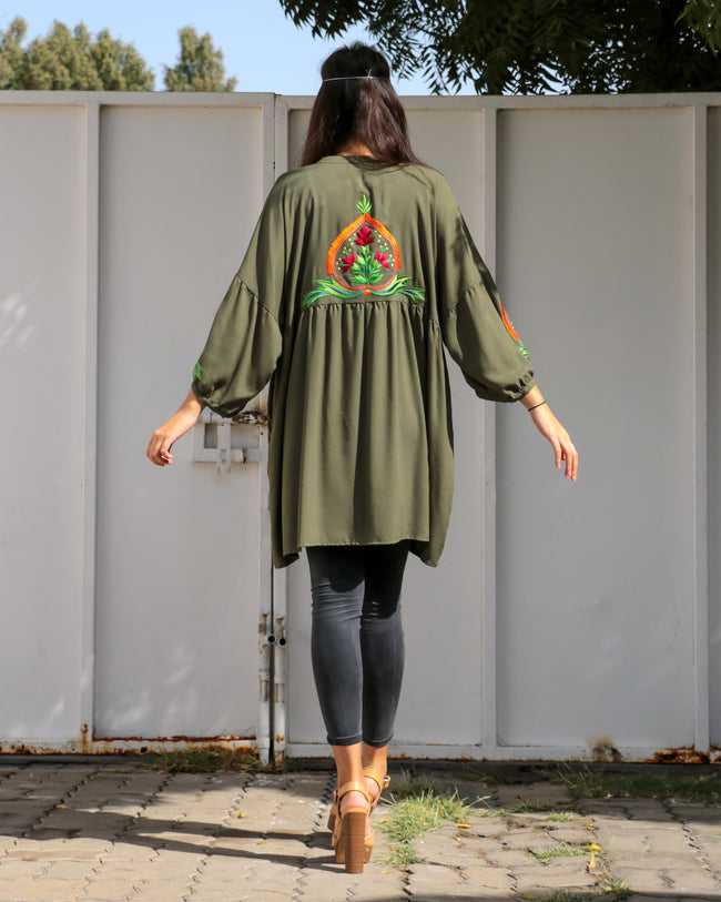 Florence Top | Olive