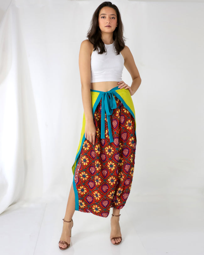 Harem Wrap Pants | Soni