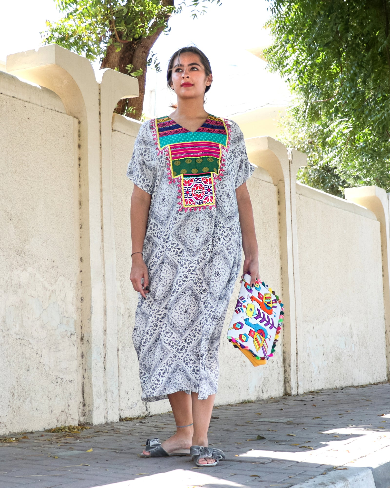 Bandida Signature Patchwork Dress