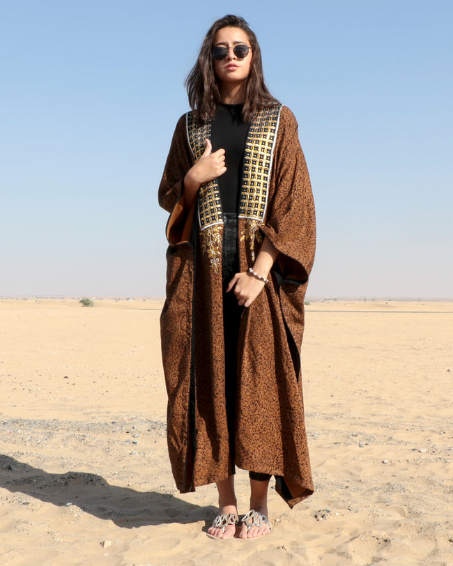 Bisht Duster | Sheera Gold