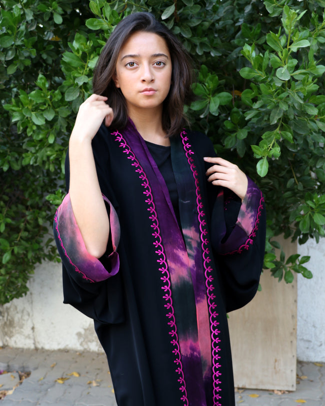 Willow Tie Dye Abaya