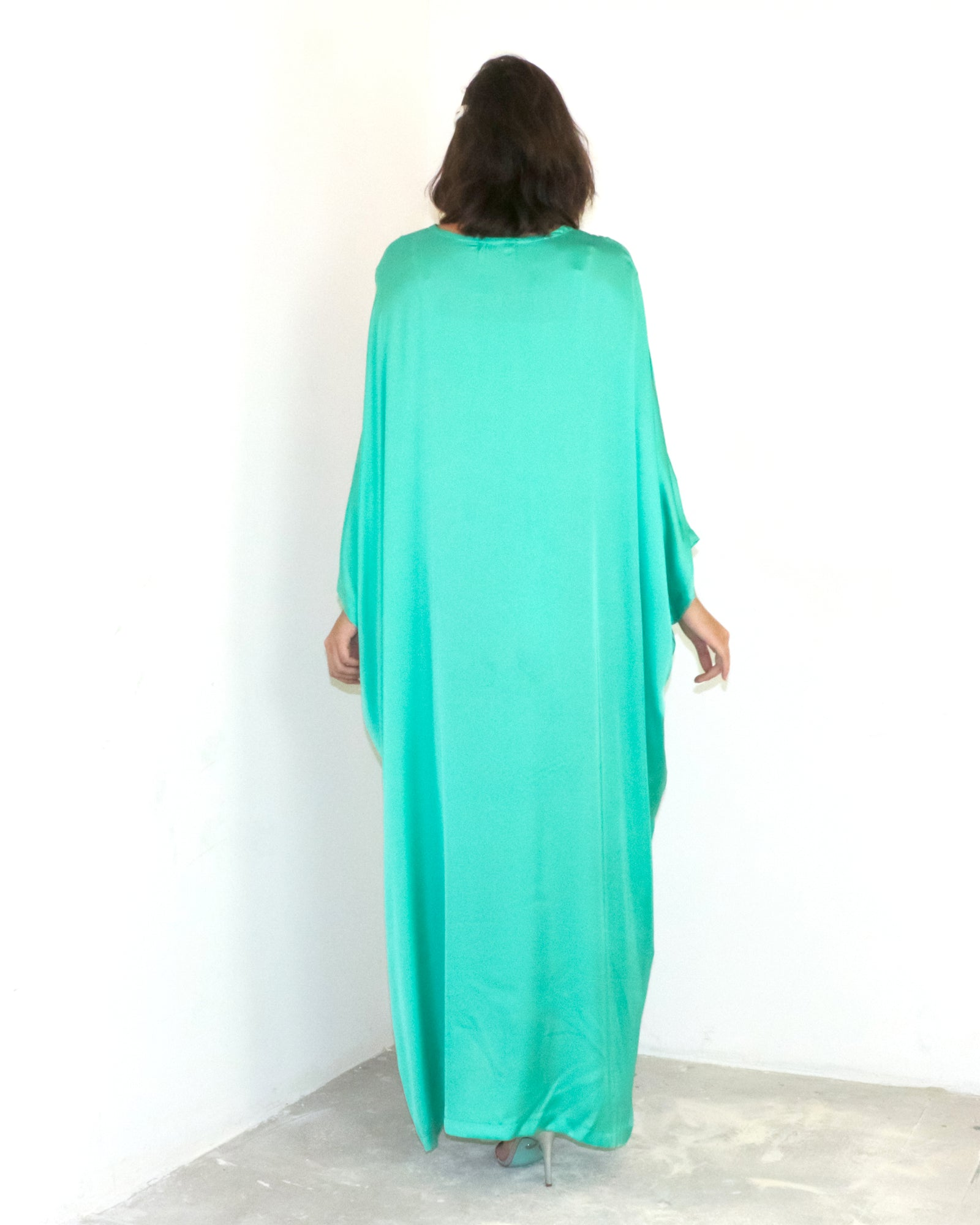 Cheyanne Caftan | Bright Turquoise
