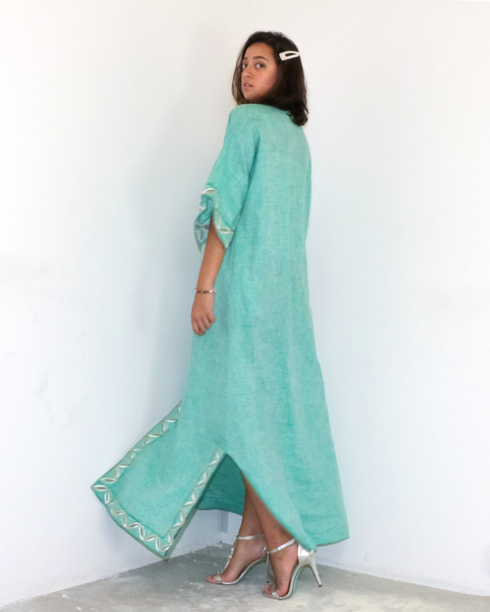 Tyler Moroccan Kaftan Dress