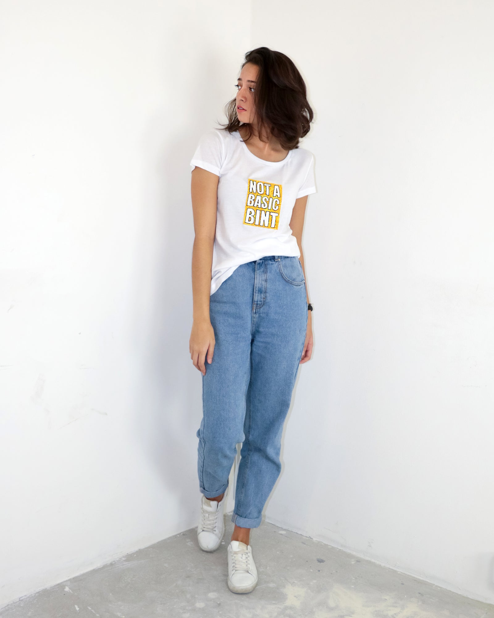 Not A Basic Bint | Cotton T-Shirt