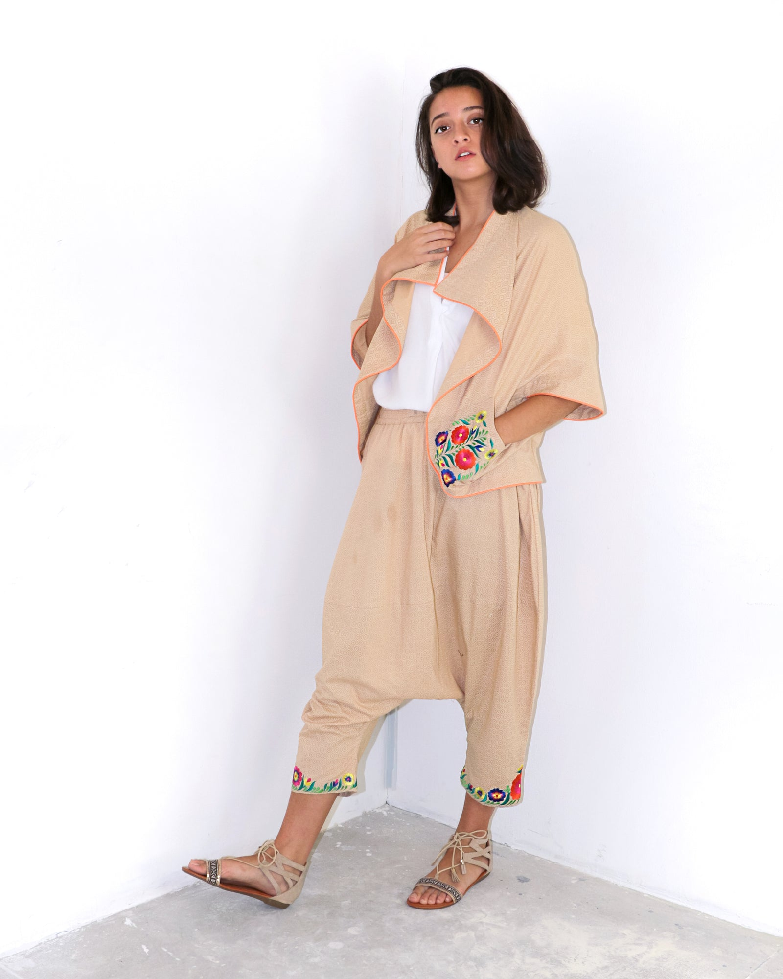 Lenora | Cotton Harem Pants