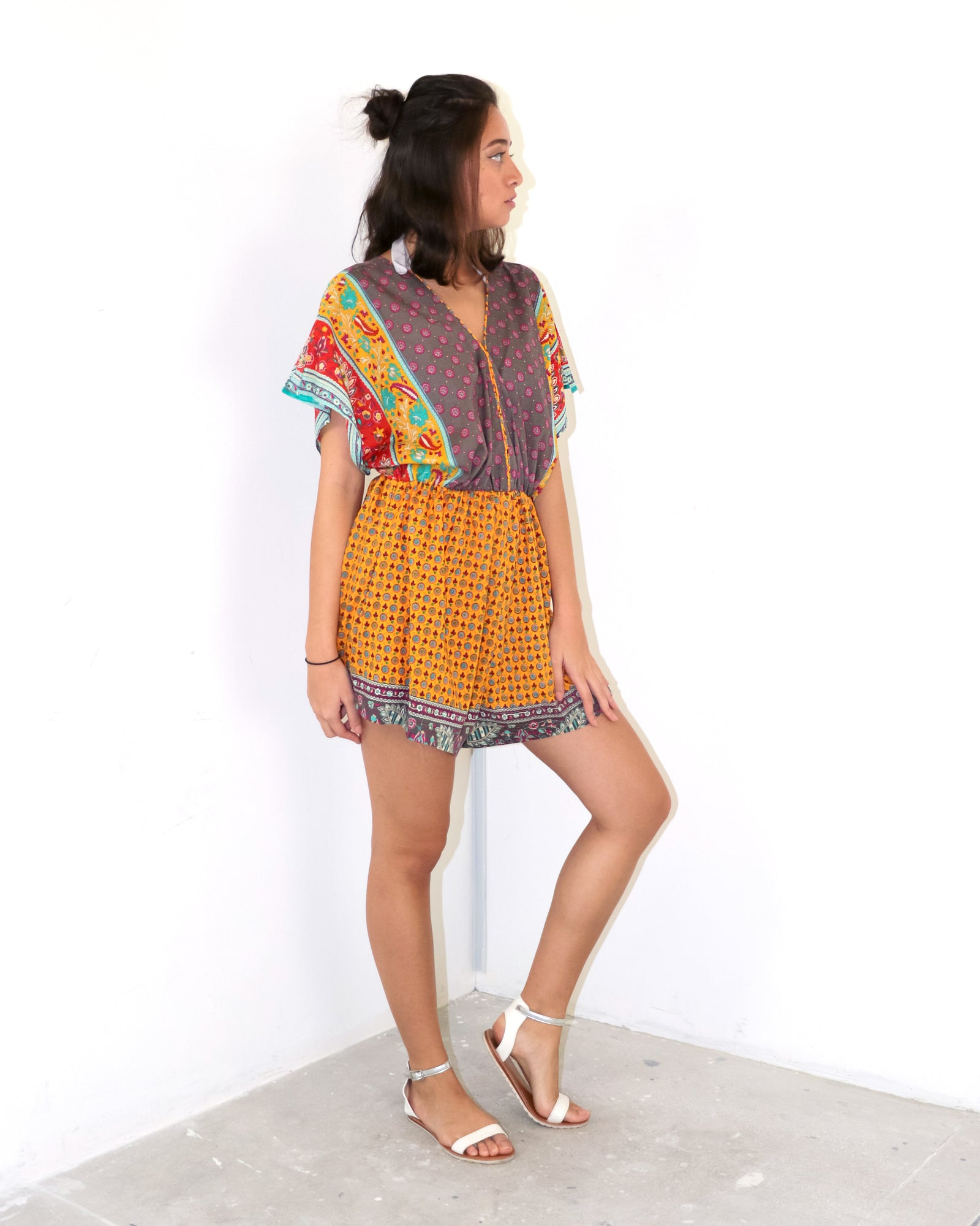 Cotton Romper | Elio