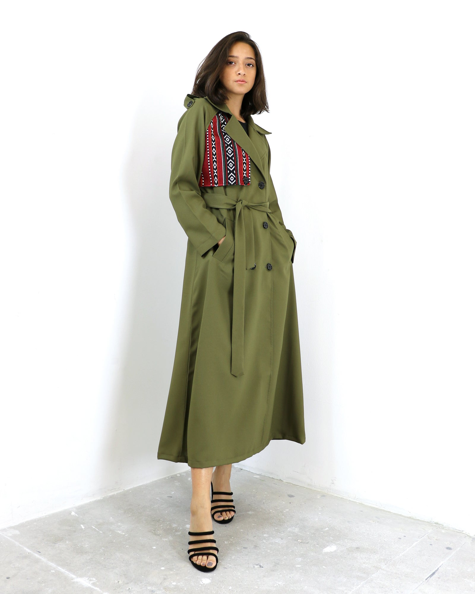 Rainie | Trench Coat