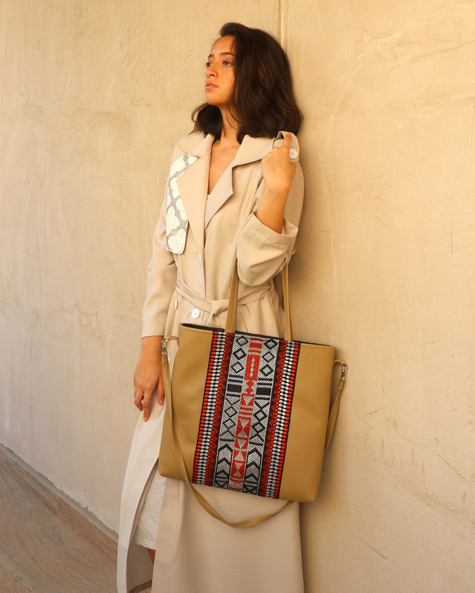 Sadu Everyday Handbag | Cream Tan