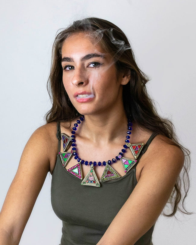 Khushi | Restored Tribal Necklace