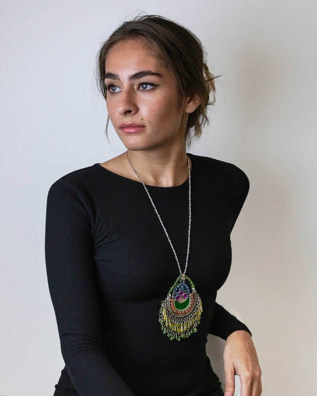 Gulnoor  | Restored Tribal Necklace