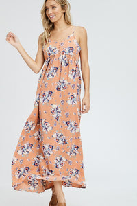 Spring It On | Floral Print Maxi Dress
