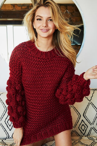Pom Pom Party Sweater