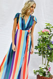Somewhere Over The Rainbow | Maxi Dress