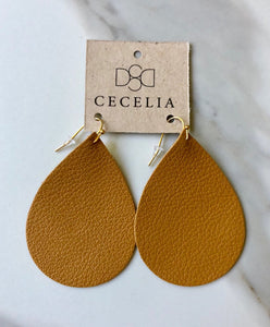 Djiion Leather Earrings