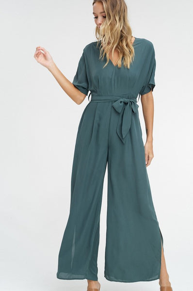 Envy the Adventure | Emerald Jumpsuit