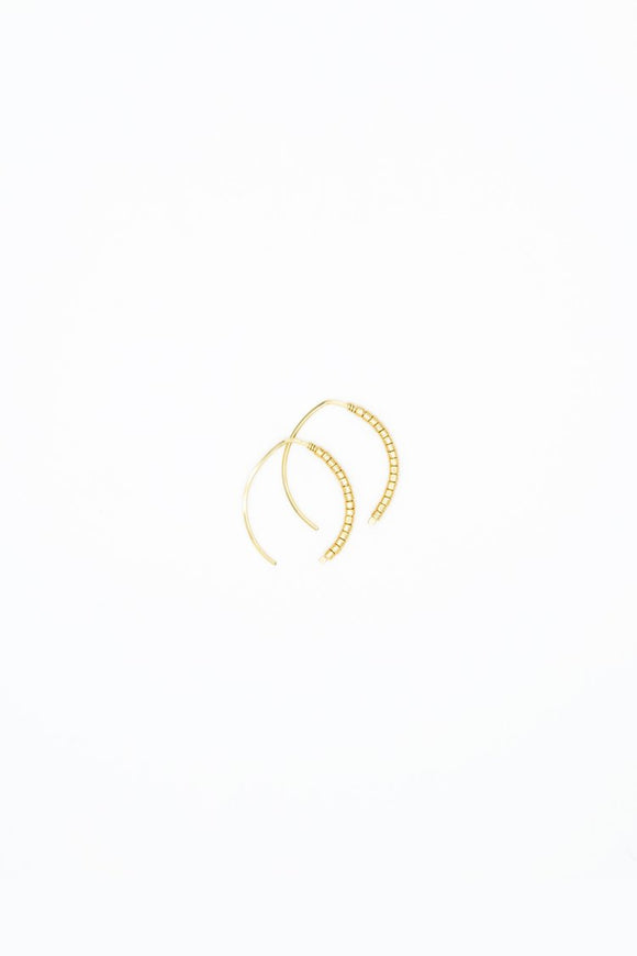 The Johnnie Wishbone Mini Gilt Hoop