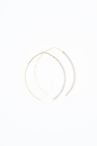 The Johnnie Wishbone Small Rosa Hoop