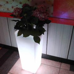 leditup, furniture, hotel, home, garden, club, bar, event, led furniture, decoration, pot, light