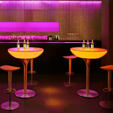 leditup, furniture, hotel, home, garden, club, bar, event, led furniture, decoration, table, light