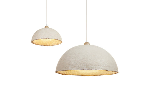 Mushroom Material Lamps by ecovative and danielle trofe