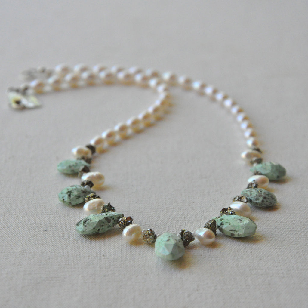 """Nobility"" Persian Turquoise Necklace"