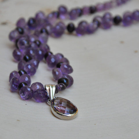 """Dancer"" Amethyst Necklace"