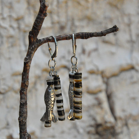 """Fish Harbor"" Earrings"