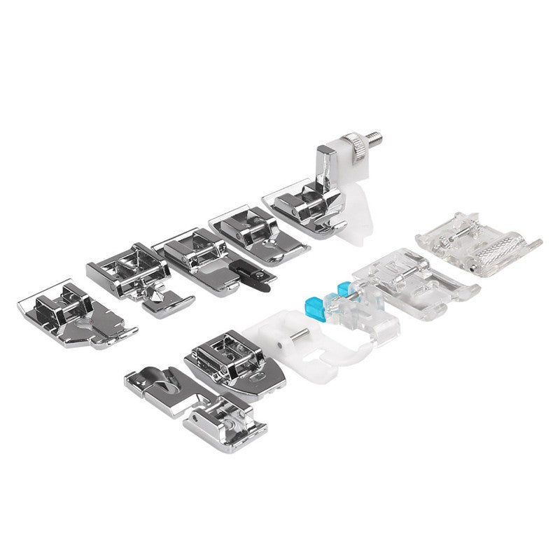 11pcs Multifunction Presser Foot Spare Parts