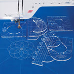 (The Must Have Tool For Sewing)-Quilting Template Set™ - 6 Pieces™ - FREE SHIPPING For 24hrs OnLy