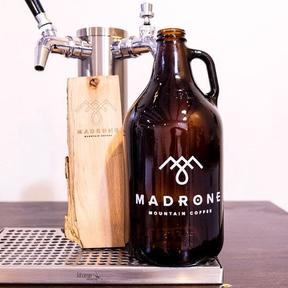 Cold Brew Growler Refill Service