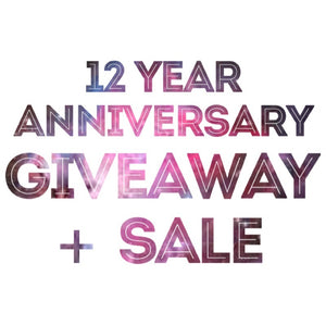 HUGE Giveaway! We're Celebrating 12 Years!