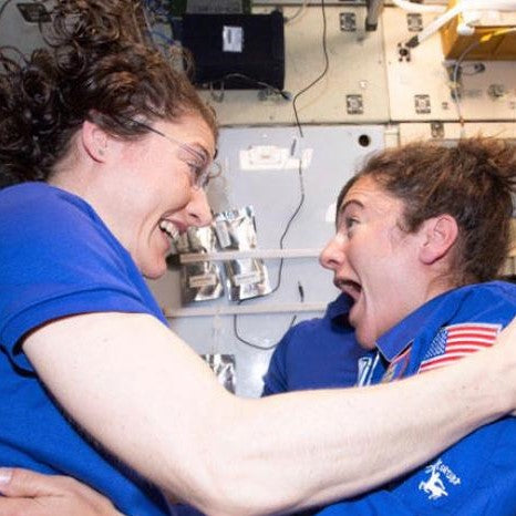 All Female Spacewalk - F Yeah!!