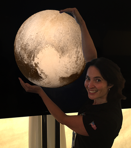 Dr. Carly Howett, Planetary Scientist - Image credit: JHUAPL/SwRI