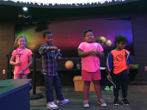 STEM challenge event at Hagerstown Planetarium