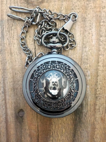 Custom Photo Memorial Pocket Watch by Yugen Tribe