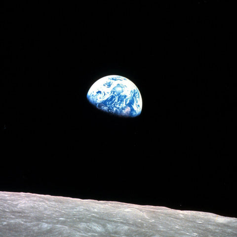 Earthrise Earth Rise by Bill Anders NASA