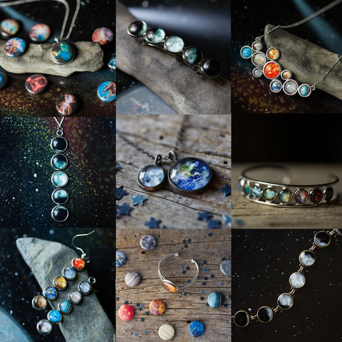 Handcrafted Celestial Jewelry by Yugen Tribe