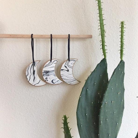 Crescent Moon Ornaments on YugenTribe.com