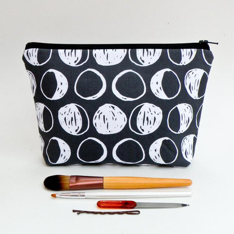Moon phase makeup pencil bag at yugentribe.com