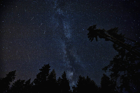 Shooting Stars and Milky Way Galaxy on Yugen Tribe Blog