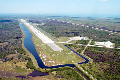 Kennedy Space Center NASA Shuttle Landing Facility Runway