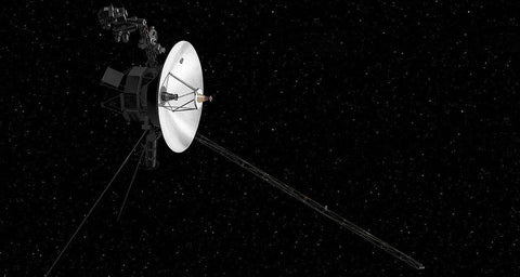 Voyager 2 Probe, Image Credit NASA on Yugen Tribe Blog