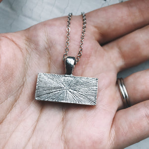 Planetary Society LightSail Rectangle Necklace - Sail - Yugen Tribe